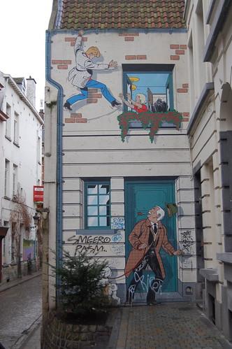 Fachada en Bruselas