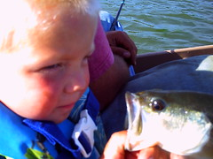 GETTING READY (crazydude713) Tags: ocean summer sun fish water kids sunrise fun fishing pond bass bigfish firstkiss sunsetdolpine