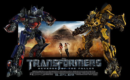 Wallpaper Transformers 2 Optimus Bumblebee