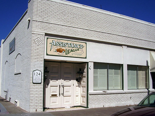 Assistance League of Orange headquarters on Orange St.
