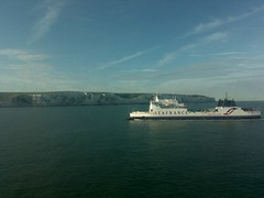 Road Trip Europe: on our ferry to Dunkirk