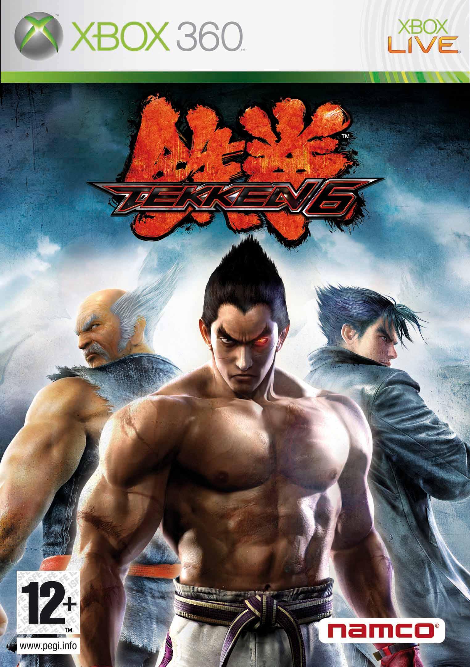Tekken 6 Console Cover Art Sdtekken Com Tekken News Resource