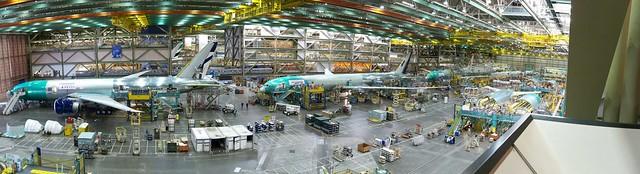777 Final Assembly Line