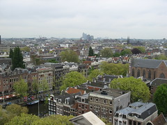 View from Westerkerk Tower (Rose Robinson) Tags: holland amsterdam prinsengracht westerkerk