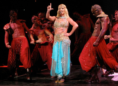 Britney Spears in Indian dance costume