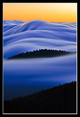Above the Clouds (Joseph Rossbach(www.josephrossbach.com)) Tags: sunset nature weather vertical clouds landscape nationalpark dramatic clingmansdome greatsmokymountains photocontesttnc09