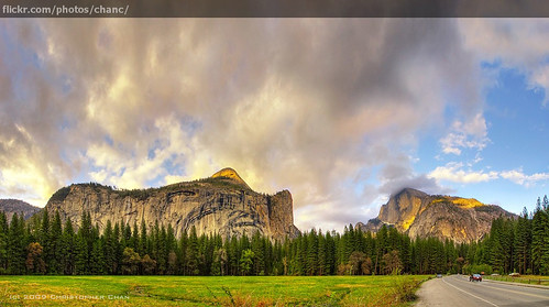 Photo of the Day: Half Dome Panorama by Christopher Chan