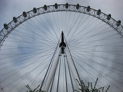 The London Eye is a Bicycle Wheel