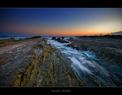 Snapper Rocks (Christolakis) Tags: sunrise rocks fishermen wave goldcoast snapperrocks sigma1020 nohdr canon400d