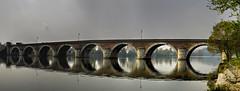 Pont Napolon sobre el Tarn, Moissac (F) (Panoramyx) Tags: bridge panorama france puente frankreich ponte panoramica pont napoleon brcke francia hdr tarnetgaronne moissac