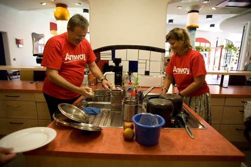 Amway Distributors at the Ronald McDonald House in Germany