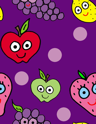 Fruit salad background for twitter or your desktop