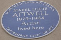 Photo of Mabel Lucie Attwell blue plaque