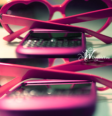 (D o u b l e y o u) Tags: pink sunglasses canon bokeh w 500mm doubleyou  backberry backfromhere