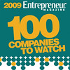 2009 Entrepreneur Magazine 100 Companies to Watch