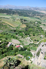 Looking Down In Roda (cwgoodroe) Tags: summer costa white hot sol beach del bells spain ancient europe churches sunny bull bullfighter adobe ronda moors walls washed clothesline protective newbridge roda bullring stonebridge oldbridge spainish whitehilltown rondah spanishdoors