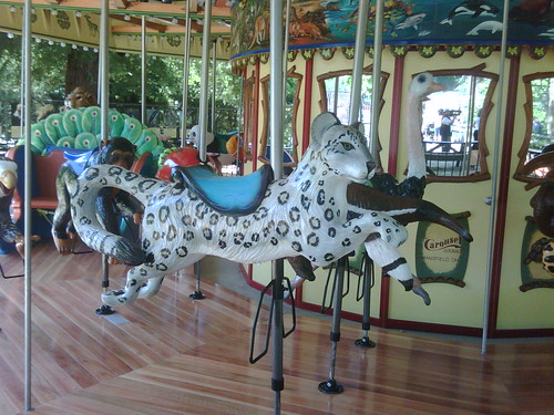 New Carousel at the Sacramento Zoo