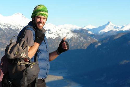 Mountain top in Patagonia, Lago la Paloma, Thanks Grant Kitto by cactus.climbing.
