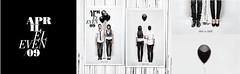 Our Save the Date (MTT.DLE) Tags: wedding portrait matt typography design back dale postcard tie front savethedate april vest baloons jami blackandwhitewedding