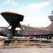 West Berlin 1990 - US Army De Havilland Canada U-6A Beaver (DHC-2) Aircraft Preserved At Tegel Airport.
