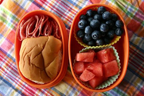 Preschool Bento #194: June 10, 2009