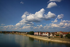 Nevena Uzurov - View from the bridge (Nevena Uzurov) Tags: nature river landscape scenery serbia getty promenada sava flatland vojvodina srbija sremskamitrovica srem kej србија sirmium nevenauzurov stirineysbridge срем сремскамитровица