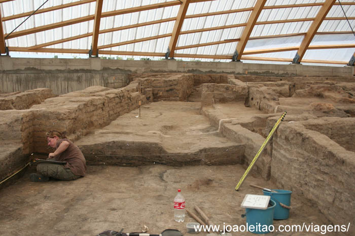Ruinas Catalhuyuk, Anatolia Turquia