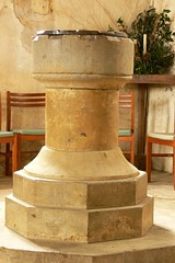Font - All Saints Burton Dassett