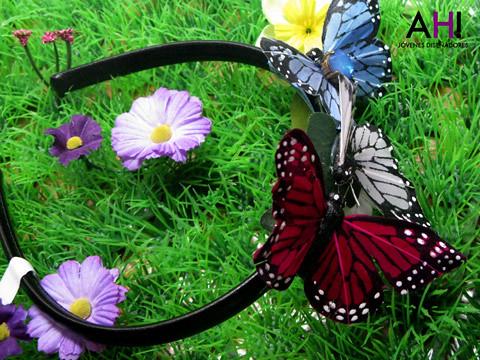 Diadema mariposa