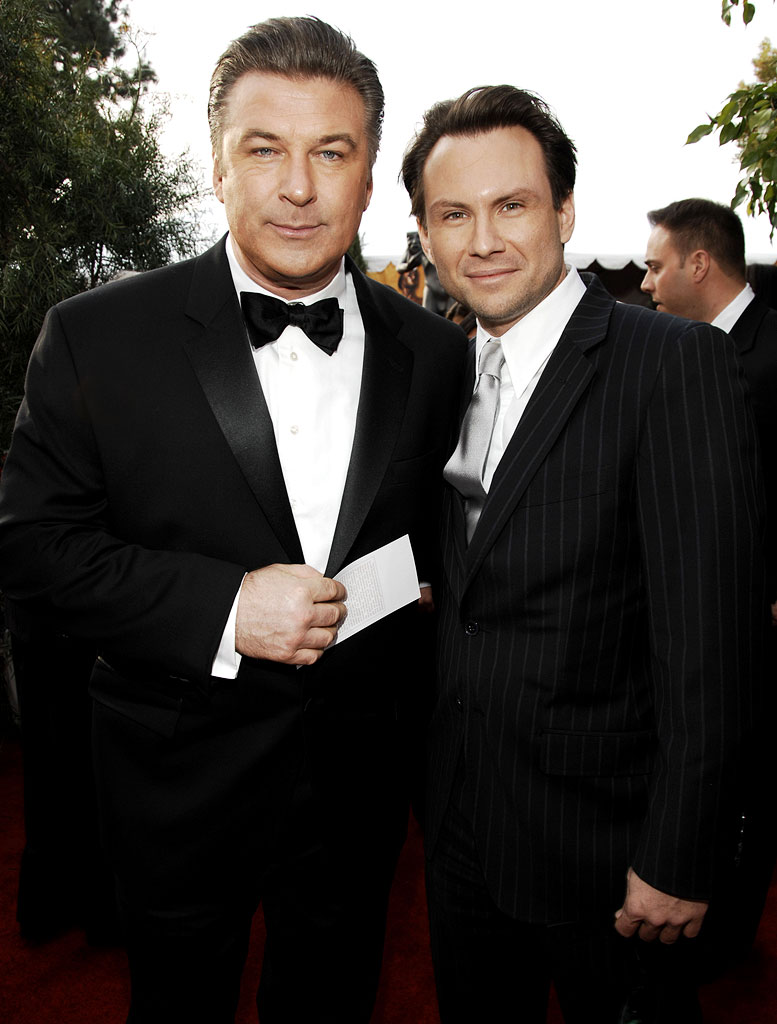 Alec Baldwin and Christian Slater
