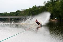 Slalom (jasonippolito) Tags: family blue water rock river boat illinois skiing rope frog rockford slalom mastercraft barefooting