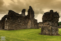 Sawley Abbey (JoshJackson84) Tags: uk england abbey northwest lancashire monks filters hdr sawley reformation dissolution singleraw canon400d sawleyabbey
