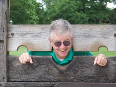 papa in the stocks