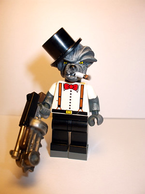 Mr Wolf Lycanthrope Enforcer custom minifig