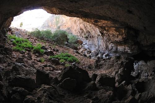 Wadi Geneb cave