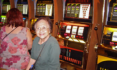 Aunt Aida at Slot Tournament
