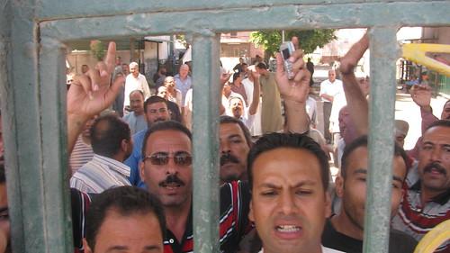 Tanta Flax and Oil Co Strike enters 30 day إستمرار إضراب عمال طنطا للكتان والزيوت by you.