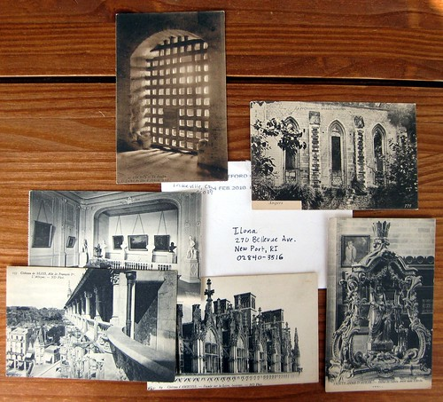 Vintage postcards from Europe