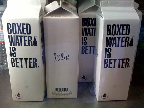 Life: Boxed Water Is Better