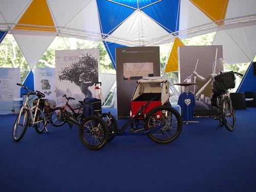 Cenas a Pedal em exposição no GPA Roadshow Oeiras Sustentável 2010