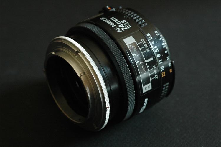 Bague inversion canon 50mm