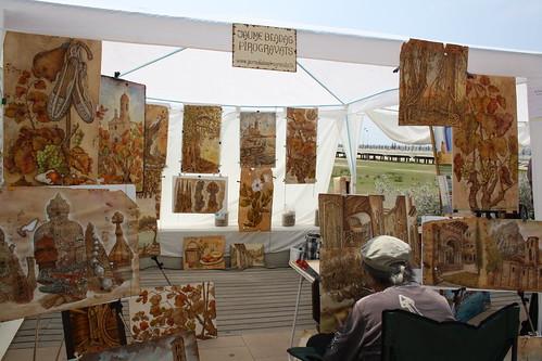 Jaume Bladas en la 5ª Mostra d'Art