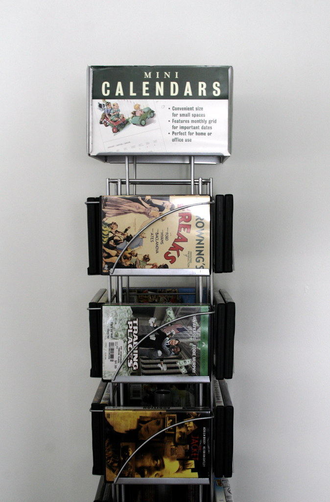 Calendar-dvd rack: Before