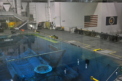 Inside the Neutral Buoyancy Lab