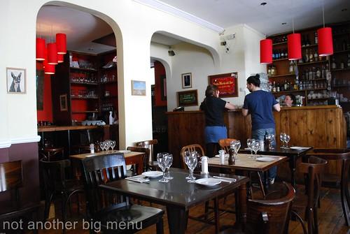 Santa Maria del Sur, Clapham - Restaurant interior