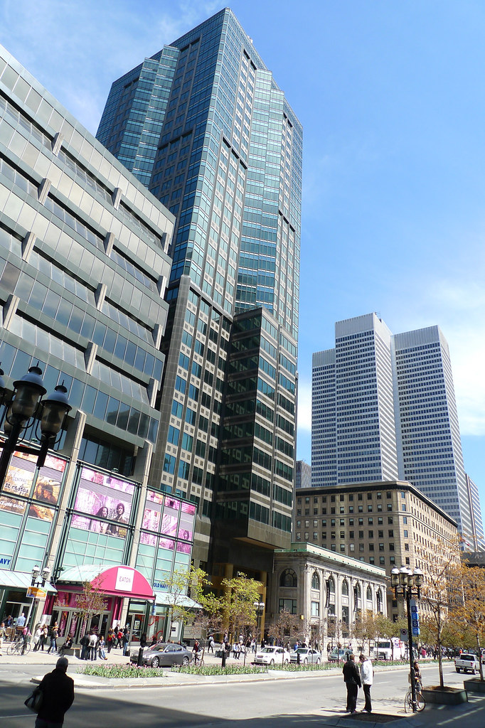 Copyright Photo: McGill College Ave- Downtown Montreal by Montreal Photo Daily, on Flickr