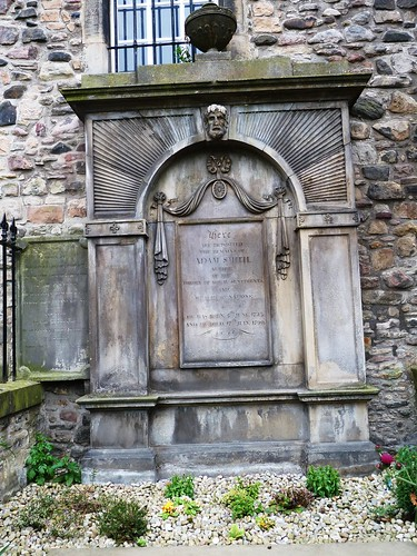 Adam Smith's Grave, Canongate Kirk