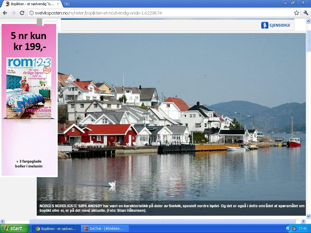 nordre bydel i svelvik er sørlandet