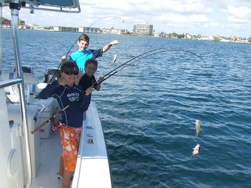 3 fish on