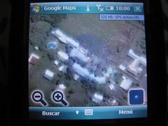 Google Maps en Palm Treo Pro